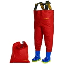 Waders PVC enfant KIDSPLAY ROUGE